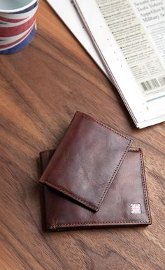 1RedPlace Men's Cowhide Leather Multicard Billfold With Removable Passcase Wallet #amazon #accessories #wallets #fashion #menswear