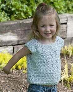 Ravelry: Summer Fun Tank pattern by Karen McKenna Crochet Toddler, Crochet Girls, Crochet For Kids, Free Crochet, Crochet Children, Crochet Summer, Crochet Baby Sweaters, Crochet Baby Clothes, Knitted Baby