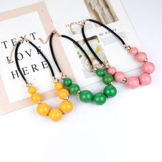 Long Rope Chains Big Fashion Beaded Necklace for Women Round Acrylic Resin Pendants Vintage Designer Necklaces for Girl Jewelry Girls Necklaces, Girls Jewelry, Jewelry Accessories, Resin Pendant, Pendant Jewelry, Pendant Necklace, Fashion Beads, Acrylic Resin, Rope Chain