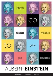 Albert Einstein o bibliotekach