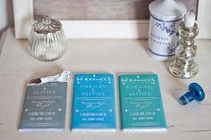 Tablette Chocolat Personnalisée - Mode d'emploi et Gabarit.