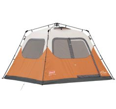Coleman Waterproof 10 X 9-Feet 6-Person Instant Tent *** Visit  sc 1 st  Pinterest & Columbia Bugaboo-ii Dome Camping Tent http://www.futurecamping.com ...