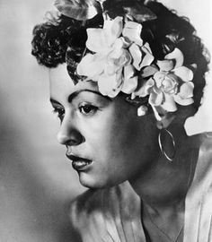 The great lady Day - Billie Holiday #music #jazz #musicians
