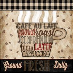 RB8035JK <br> Premium Coffee I <br> 12x12