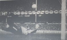 28 September 1974 Steve Seargeant's thirty yard shot flies past Leeds keeper, David Harvey, to give the Blues the lead