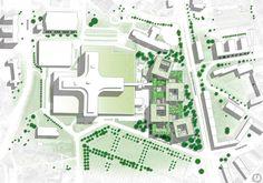Proposta vencedora da Extensão do Hospital de Helsingborg / Schmidt Hammer Lassen Architects