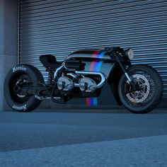 BMW R nineT Cafe Racer Twin Turbo design by Ziggy Moto #motorcycles #caferacer #motos | caferacerpasion.com Bmw Cafe Racer, Style Cafe Racer, Cafe Racer Motorcycle, Bobber Custom, Custom Bikes, Custom Cars, Bike Bmw, Cafe Bike, Concept Motorcycles