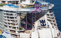 """The biggest cruise boat in the world, """"Harmony of the Seas"""" Best Cruise Ships, Cruise Boat, Bahamas Cruise, Royal Caribbean Ships, Royal Caribbean Cruise, Harmony Of The Seas, Float Your Boat, Norwegian Cruise Line, Love Boat"""
