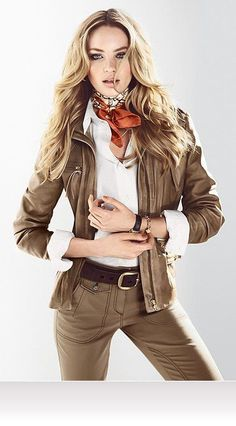 Candice Swanepoel is an inspiration. Moda Safari, Safari Chic, Safari Outfits, Girl Outfits, Cute Outfits, Safari Dress, Costume Indiana Jones, Safari Costume Women, Girl Costumes
