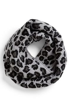 Betsey Johnson 'Pretty Kitty' Infinity Scarf (Special Purchase) | Nordstrom