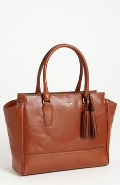 COACH 'Legacy - Medium' Leather Carryall | Nordstrom