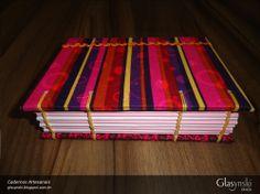 Caderno Artesanal Copta - frente