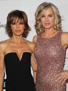 Lisa Rinna Eileen Davidson The Real Housewives of Beverly Hills