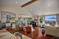 Shoreline Traditional - traditional - Living Room - Seattle - RW Anderson Homes