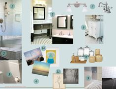 Mood Board: Bathroom Update Design - Studio Davenue