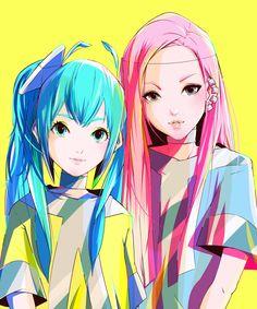 Namie Amuro x Miku Hatsune / DTM Magazine Cover Art - YKBX