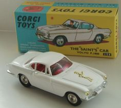 We grew up with Corgi toys - this one was the Volvo that Roger Moore used in the TV series 'The Saint'
