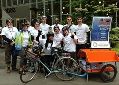 Seattle Public Library's Books on Bikes program launched May 21, 2013