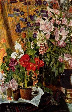 ❀ Blooming Brushwork ❀ - garden and still life flower paintings - Alexander Golovin
