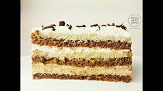 Jeftin kolač sa kokosom - Coconut Cake Recipe - Eng Sub Torte Recepti, Kolaci I Torte, Cake Recipes, Dessert Recipes, Desserts, Torte Cake, Cake Youtube, Homemade Cookies, Soul Food