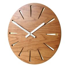 Roco Verre Cherry Mirror Clock