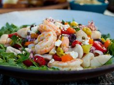 Get Mixed Seafood Salad Recipe from Food Network