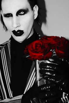 """After the Columbine incident back in the late 90's, artist Marilyn Manson was the """"poster boy"""" for violence in our youth because he dressed the way he did and people assumed his songs promoted violence, sex and satanism when in reality his lyrics promote critical thinking and a real look into our society. Not violence."""