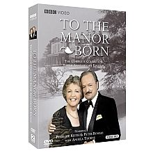 To The Manor Born: The Complete Collection Buy DVD The wonderful Penelope Keith stars as Audrey fforbes-Hamilton, widowed former Lady of Grantleigh Manor. With her financial situation now perilous at. British Sitcoms, British Comedy, British Actors, Comedy Tv Shows, Comedy Series, Penelope Keith, Bbc Tv, Silver Anniversary, Favorite Tv Shows