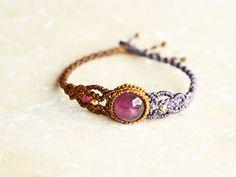 Beautiful macrame bracelet