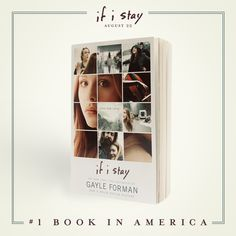 Thank you for making If I Stay the #1 book in America!