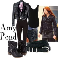 Amy Pond, created by companionclothes on Polyvore