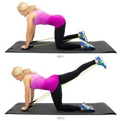 Sculpt your butt anywhere with glute kickbacks. They're a great way to add resistance and difficulty when you're not in a gym.