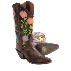 Flowery Cowboy Boots