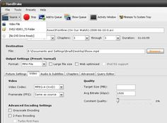 Video transcoder. Supports a wide range of input and output formats.