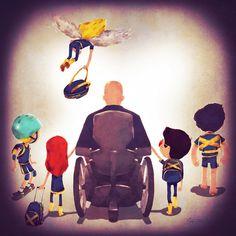 """Uncanny Dad"" | Marvel Superhero Families Take Their Kids Back To School"