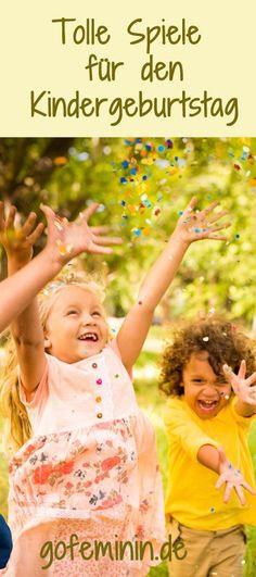 To make it an unforgettable birthday party: Great indoor and outdoor games - Kindergeburtstag - Kuchen