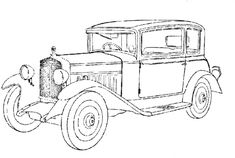 vintage_cars_8 adult coloring pages