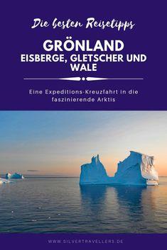 """Reisebericht zur #Kreuzfahrt """"Sommer in #Grönland """" mit der MS Hamburg zu verschiedenen Orten entlang der Westküste Grönlands und ein kleines Schiffsporträt. Reisen In Europa, Wale, North Pole, Big Island, Wildlife, Country, Nature, Beautiful Places, Travel"""
