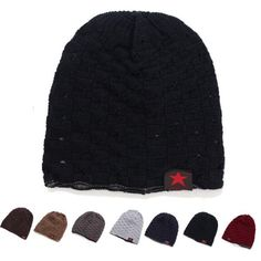 Unisex Winter Warm Skull Knit Beanie Cap Dual Wearable Men Women Riding  Skiing H  013ba4bdaa66