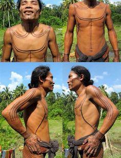 Mentawai tattoo