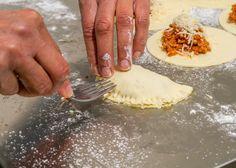 Ciasto na pierogi Camembert Cheese, Pierogi, Vegetables, Ethnic Recipes, Food, Veggies, Veggie Food, Meals, Vegetable Recipes