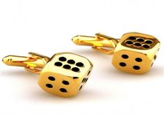 God of Gamblers Gambling Golden Dice Cufflinks Las Vegas Board Game Luck by Utoy -- Awesome products selected by Anna Churchill Religious Christmas Cards, Religious Gifts, Religious Jewelry, Funny And Gold, Wedding Jewelry, Board Games, Dice, Fashion Jewelry, Crystals