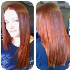Hair color and cut by Laura Lonero