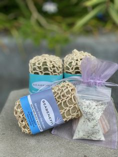 Healing Benefits of the Sea Trio + Free Dead Sea Salts Tub Tea Sample | Seabenefit Seaweed Soap, Dead Sea Salt, Dead Sea Minerals, Muslin Bags, Black Soap, Rose Buds, Dried Flowers, Tub, Healing