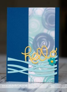 #GDP038 Sketch Challenge Card using Stampin Up Products - with Michelle Last
