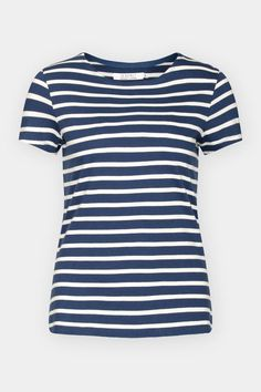 Short-sleeved sister to the famous Seasalt Sailor Shirt. Made from pure organic cotton, with a stylish boat neck, cap sleeves and Breton stripes. Cap Sleeves, Short Sleeves, Sailor Shirt, Breton Stripes, Preppy, Organic Cotton, Autumn Fashion, Stylish, T Shirt