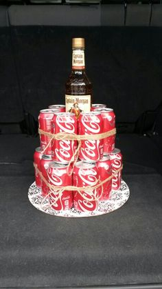 Captain Morgan & Coke Cake!!! aka my birthday cake please