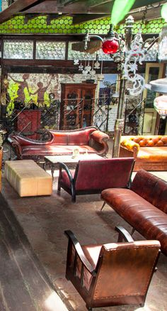 The Eclectic La Favela Restaurant Seminyak Bali INdonesia Beyond Villas Has
