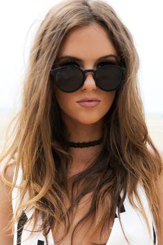 Last Night Frame Sunglasses - Black – Haute & Rebellious