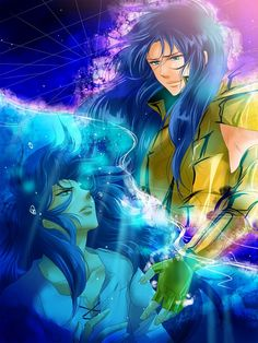 Tags: Anime, Whiteplum, Saint Seiya, Gemini Saga, Gemini Kanon, Gold Saints